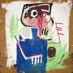 Jean Michel Basquiat, Untitled (self-portrait), 1982-83