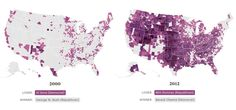 Interactive maps used to visualize data, report the news and tell compelling stories Us Presidential Elections, Us Election, Barack Obama, Winner, Interactive Map, Cartography, Infographics, Lost, Digital