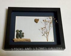 Pebble Art Swing Scene Modern Children's Home par SticksnStone