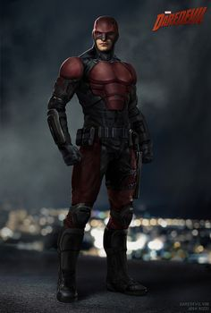 Netflix's Daredevil series is really good, but there are two things about it I would change: it's molasses pace and Daredevil's suit. I'm fine with most of the suit, but his mask is atrocious. The mas