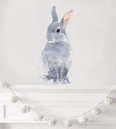 Kinderzimmer Dekor Woodland-Baumschule Baumschule Rabbit