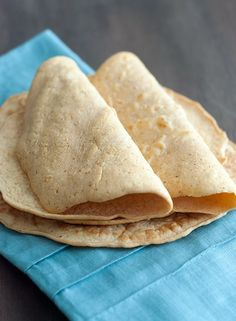 Tortilla made with coconut flour