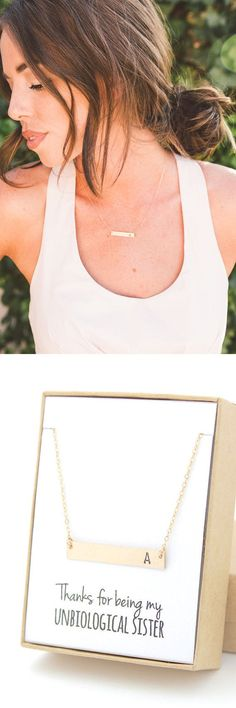 Make every one of your bridesmaids (and Maid of Honor!) feel special on your wedding day with a beautiful personalized gold bar necklace that can wear long after the big day!