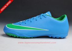 TF Blue Nike Mercurial Victory X Mens
