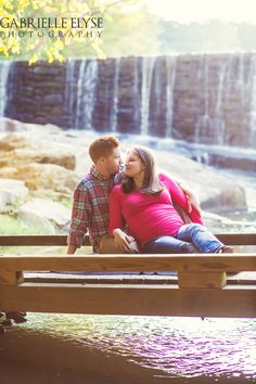 Yates Mill Park Maternity Session   Raleigh Maternity Photographer   Gabrielle Elyse Photography www.gabrielleelyse.com