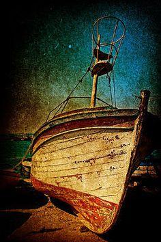 Shipwreck Sailcloth Print
