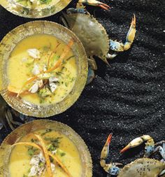 Be anything but crabby after enjoying this sunny citrus bisque. Youll net half your daily folate needs per bowl.