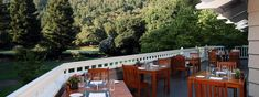Enjoy Easter Brunch at The Grill at @Meadowood Napa Valley Official overlooking the golf course and croquet lawns.