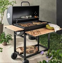 Barbecue Design, Grill Design, Rustic Kitchen Design, Outdoor Kitchen Design, Backyard Bbq Pit, Barrel Bbq, Diy Grill, Patio Kitchen, Outdoor Dining
