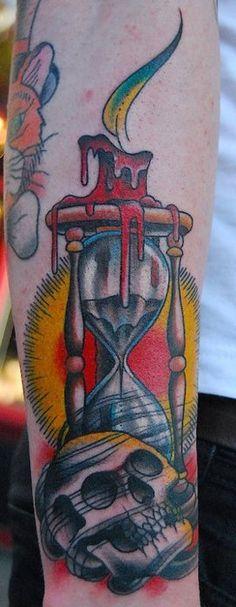 HourGlass #tattoo by Tutti Serra