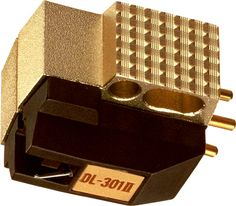 The DL-301II cartridge is the updated version of the popular DL-301. The body style has been changed and output performance has been improved to provide a more detail-oriented response. The output is slightly higher than most MC cartridges, providing a strong response with plenty of punch.