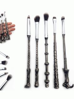 These Harry Potter Makeup Brushes Are True Magic Wands +#refinery29