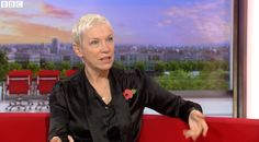 Annie Lennox talks about Ebola, Feminism and Nostalgia with BBC Breakfast - http://www.eurythmics-ultimate.com/blog/2014/11/03/annie-lennox-talks-ebola-feminism-nostalgia-bbc-breakfast/