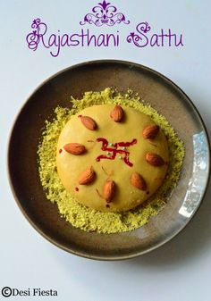 Sattu - Popular To Typical Mouthwatering Rajasthani Dishes Indian Dessert Recipes, Indian Sweets, Indian Recipes, Rajasthani Food, Rajasthani Recipes, Middle Eastern Sweets, Indian Dishes, What To Cook, Sweet Desserts