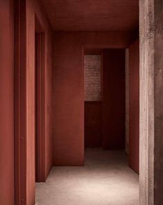 KABE wall decor in this gorgeous color, Burnt Ruby! The photo is from Restaurant 108 in Copenhagen! www.kabecopenhagen.com