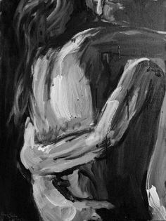 Ολόκληρο το σύμπαν ομορφότερη κίνηση δεν κάνει, από εκείνη που κάνει το χέρι σου, όταν με τραβά στην αγκαλιά σου...