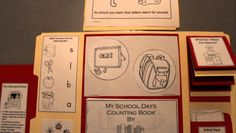 School Days - Preschool Lapbook - Idea.