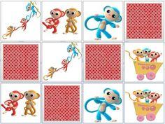 Monkey Matching Game
