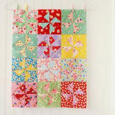 pinwheel blocks by nanaCompany