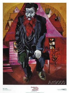 Marc Chagall - Der rote Jude