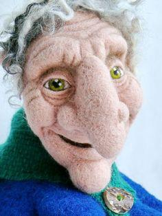 31 . A Fairy Tale Grandma Beata Brodka Poznan , WLKP POLAND