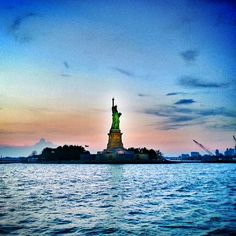 Visiting the island of the Statue of Liberty