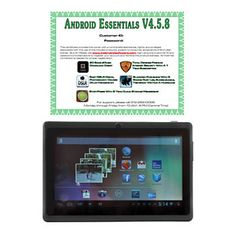 "7"" Android™ 4.2 4GB Wi-Fi Tablet w/ Google Play Access & Software"