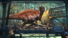 Mesozoic Land: Acrocanthosaurus by Raph04art