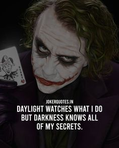 Joker Quotes #Jokerquotes #Quotes Words Of Wisdom Quotes, Truth Quotes, Wise Quotes, Inspirational Quotes, Happy Quotes, Quotes Quotes, Best Joker Quotes, Badass Quotes, Positive Quotes