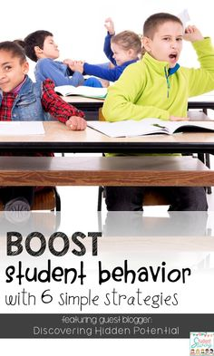 How to Boost Your Students Behavior in the Classroom! Tools, Tips, Strategies, and a Free Resource Included!