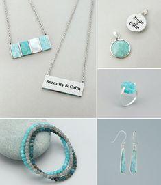 Gemstone Jewelry. Amethyst Gemstone, Gemstone Jewelry, Healing Gemstones, Crystal Pendant, Stone Rings, Rose Quartz, Pendants, Drop Earrings, Crystals