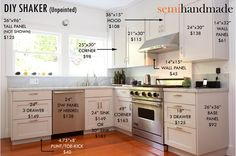 Cost Of Semihandmade IKEA™ Doors - company that makes semi-custom fronts for ikea cabinets