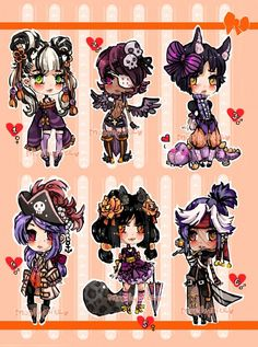ChibiAdopts-15: CLOSED by mostlyniceAdopts.deviantart.com on @DeviantArt