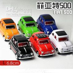 Wholesale Diecast Cars & Model Vehicle - Buy Fiat 500 1:48 Alloy Cars Model Kids Toy Pull Back Cars Ruggedness Decorations 6 Colors, $2.84 | DHgate
