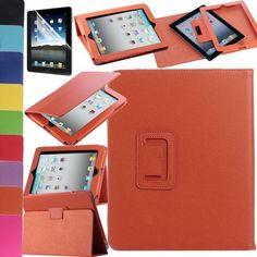 Pandamimi ULAK(TM) Magnetic PU Folio Leather Case Cover with Built-in Stand for Apple iPad 1 1st Generation + Screen Protector (Orange) by ULAK, http://www.amazon.com/dp/B00DBSFWQ0/ref=cm_sw_r_pi_dp_r3Igsb0QDM8YR