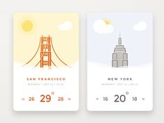 Daily UI challenge #037 — Weather
