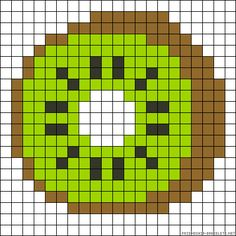 Brilliant Cross Stitch Embroidery Tips Ideas. Mesmerizing Cross Stitch Embroidery Tips Ideas. Melty Bead Patterns, Perler Patterns, Beading Patterns, Diy Perler Beads, Perler Bead Art, Pixel Art Fruit, Pixel Art Kawaii, Cross Stitch Designs, Cross Stitch Patterns