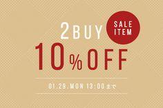 【週末限定】セールアイテム2点以上ご購入でさらに10%OFF! Web Panel, Golden Week, Instagram Banner, Poster Layout, Pop Design, Sale Banner, New Year Card, Typography Poster, Banner Design