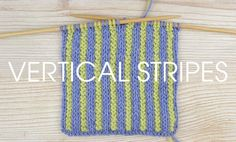 Want the next instalment of our 'Something for the Weekend' series? Of course you do! This week we're looking at alternating stitches to create fabulous vertical stripes. This corrugated rib is made of vertical stripes using knit and purl stitches. It's perfect as edging on sweaters due to it elasticity; it stretches then springs back …