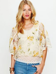 picked this up as well - perfect shirt. the lace is so intricate.