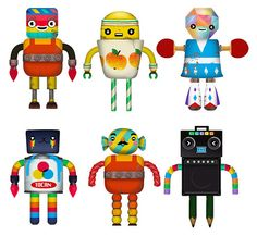 Toca Boca Robot Lab: Kids can make their own creatures then play them in a fun game