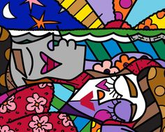 Good Morning, 2009 by Britto