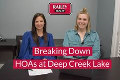 Curious about the ins and outs of purchasing in a community or subdivision with a home owners association in the Deep Creek Lake Area? We broke down some of the things you need to know in our latest video blog!