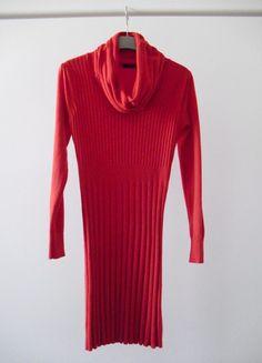 Kup mój przedmiot na #vintedpl http://www.vinted.pl/damska-odziez/krotkie-sukienki/10830034-sukienka-dzianinowa-z-golfem-dlugi-rekaw-sm