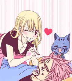 Natsu&Lucy<3