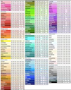 Color psychology meaning of