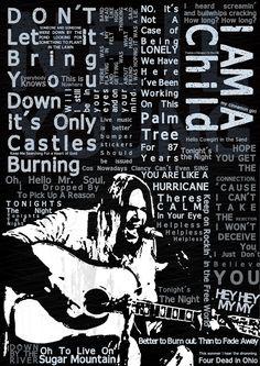 Various Neil Young lyrics