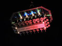 el bonito concepto de iluminación de este evento diseñó LED Audio Mallorca