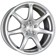 18 inch STAGGERED BOLA B7 5x100 SILVER 5 stud alloy wheels
