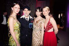 Mia Goth, Stacy Martin, and Mia Wasikowska